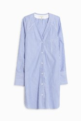 Rag And Bone Shults Shirt Dress Blue