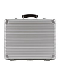 Classic Flight Attache Case Silver Rimowa North America