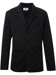 Ymc Drawstring Heavy Blazer Black