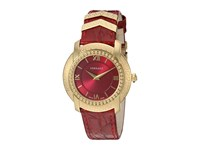 Versace Dv25 Round Lady Vam02 0016 Blue Yellow Gold Red Watches