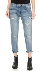 Current Elliott The Boyfriend Jeans Super Loved Destroy