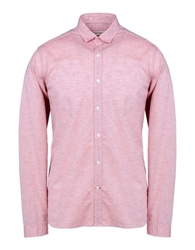 Oliver Spencer Long Sleeve Shirt Red