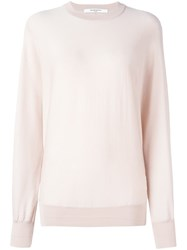 Givenchy Lightweight Knitted Sweater Pink Purple
