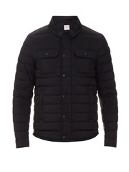 Moncler Andy Quilted Down Nylon Jacket Navy