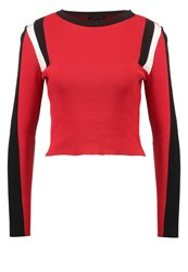 New Look Sporty Alpine Jumper Red