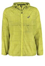 Asics Sports Jacket Meiro Sulphur Spring Neon Yellow