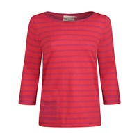 Seasalt Mabel Stripe Jumper Dinghy Coulis