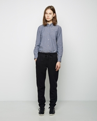 Isabel Marant Idini Boiled Wool Pant Black