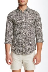 Parke And Ronen Printed Long Sleeve Slim Fit Shirt Multi