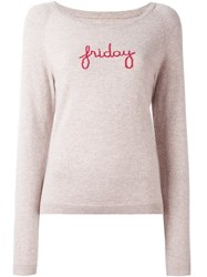 Chinti And Parker 'Friday' Raglan Knit Sweater Nude And Neutrals