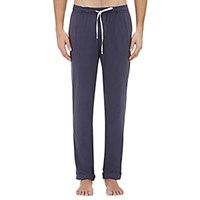 Barneys New York Men's Jersey Drawstring Lounge Pants Navy