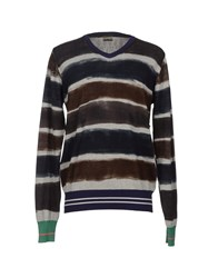 Rare Ra Re Knitwear Jumpers Men Light Grey