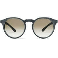 Mosevic Solid Denim Unisex Sunglasses Kepler Stone Black