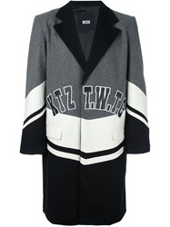 Ktz Logo Patch Coat Grey