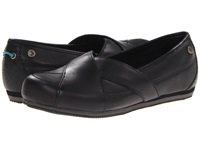 Mozo Sport Flat Black Leather Women's Flat Shoes