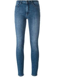 Victoria Beckham 'Powerhigh' Jeans Blue