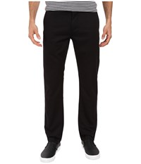 Dockers Washed Khaki Slim Tapered Black Men's Casual Pants