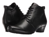 Gabor 55.631 Black Sportylamm Women's Lace Up Boots