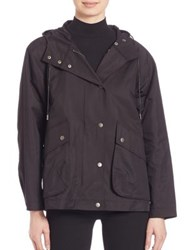 Atm Anthony Thomas Melillo Cropped Techno Parka Black