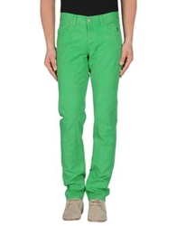 Jeckerson Casual Pants Emerald Green