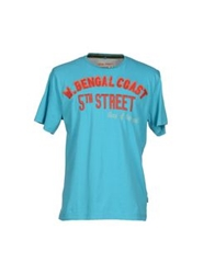 Blend Of America Blend T Shirts Turquoise