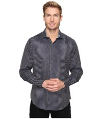 Robert Graham Alderaan Shirt Black Men's Long Sleeve Button Up