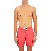 Faherty Men's Classic Board Shorts Red