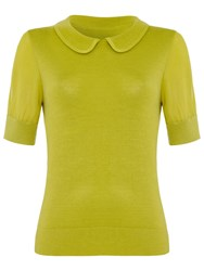 Damsel In A Dress Como Top Chartreuse
