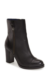 Tommy Bahama 'Laika' Cap Toe Boot Women Black Leather