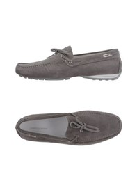 Alberto Guardiani Footwear Moccasins Men Grey