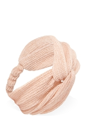 Forever 21 Metallic Knotted Headwrap
