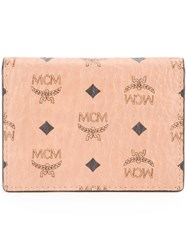 Mcm Square Small Wallet Brown