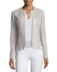 Tory Burch Nicki Perforated Leather Jacket Women's