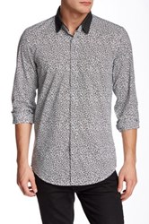 Antony Morato Printed Slim Fit Shirt Black