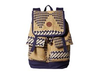 Roxy Coordinates Backpack Lark Backpack Bags Gold