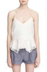 Women's Parker 'London' Embroidered Lace Tank