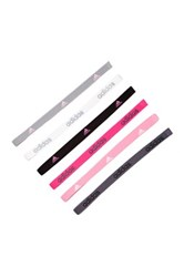 Adidas Fighter Hairband Pack Of 6 Purple