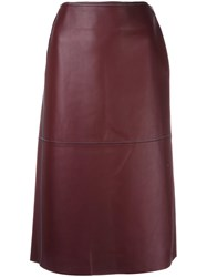 By Malene Birger 'Applied' Skirt Pink Purple