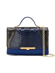 Khirma Eliazov 'Diamond Mini' Satchel Blue