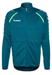 Hummel Stay Authentic Poly Tracksuit Top Legion Blue