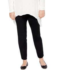 Motherhood Maternity Plus Size Skinny Pants Black