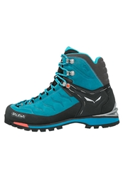 Salewa Rapace Gtx Climbing Shoes Crystal Clementine Turquoise
