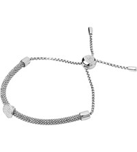 Links Of London Starlight Sterling Silver And Sapphire Round Bracelet