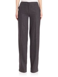 Jason Wu Wool Trousers Dark Flint Melange