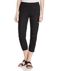 Xcvi Jetter Ruched Crop Pants Black