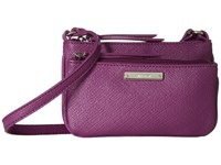 Nine West Glitter Mob Crossbody Mulled Berry Cross Body Handbags Pink
