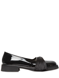 Aleksander Siradekian 4Cm Tasseled Patent Leather Loafers Black