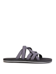 Danward Bi Colour Leather Sandals