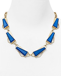 Dylan Gray Reconstituted Howlite Statement Necklace 18 Bloomingdale's Exclusive Gold Blue