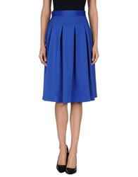 Orion London Skirts Knee Length Skirts Women Blue